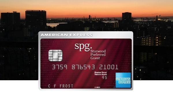 SPG AMEX Card Image