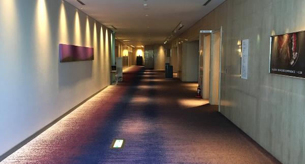 東京マリオットホテル1Fの廊下