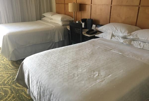 シェラトン・ワイキキのベッド