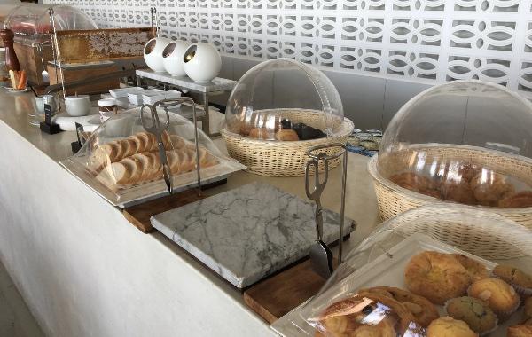 ザ・ライブラリーの朝食ビュッフェ