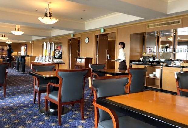 ウェスティンホテル東京のウェスティン・エグゼクティブ・クラブ・ラウンジ