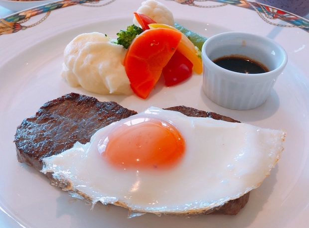 ビクターズの朝食のお勧めメイン