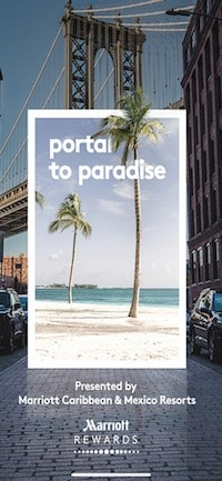 Marriott Portal to Paradiseの起動画面