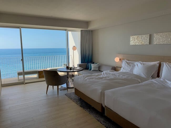 イラフSUIラグジュアリーコレクションホテル沖縄宮古のオーシャンビュールーム
