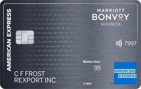 マリオット ボンヴォイ ビジネス アメックスカード(Marriott Bonvoy Business American Express Card)