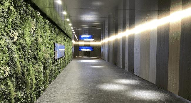 神谷町駅から東京ワールドゲートをつなげる地下鉄連絡通路