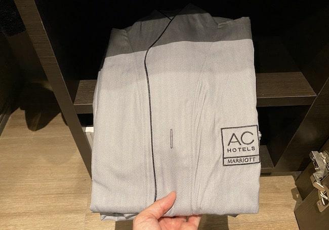 ACホテル東京銀座のルームウェア