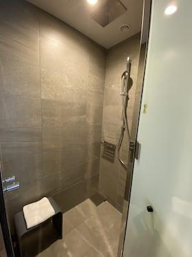 ACホテル東京銀座のお部屋のシャワールーム