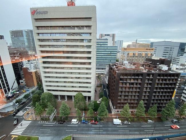 ACホテル東京銀座のプライムフロアからの景観