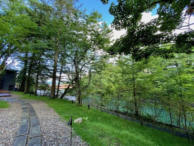 大谷川とお庭
