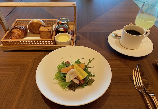 栃木県産野菜のグリーンサラダ