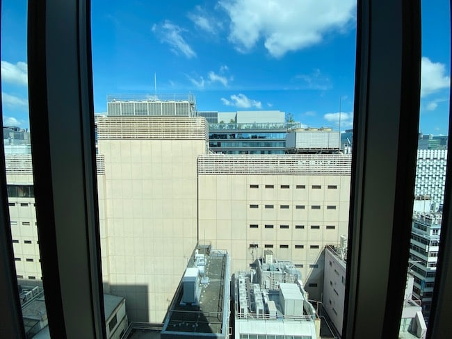 ACホテル東京銀座・GINZA SIX側の景観