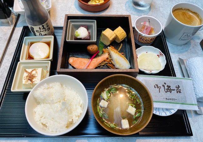 ACホテル東京銀座の和食膳