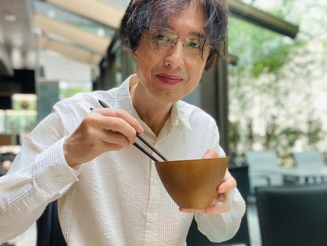 ACホテル東京銀座での食事シーン