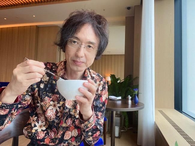 東京エディション虎ノ門での朝食