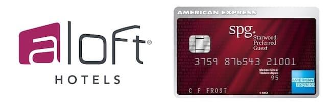 アロフトとSPGアメックスカード